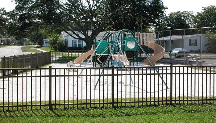 Recreational area fences