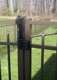 Aluminum Fencetop