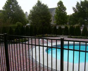metal fencing pool 2