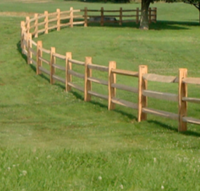 split rail fence www.hornerbros.com
